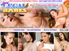 Welcome To Just Legal Babes, Home Of The Hottest, Barely Legal Teen Amateurs On The Net! Hot & Horny Teens Doing Everything Your Cock Desires Them To Do. This Is High-definition Teen Fucking At Its Best.