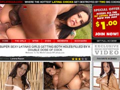 DP Latinas - Where The Hottest Latina Chicks Get Destroyed By Two Big Cocks! Watch Tons Of Videos Where Super Sexy Latina Girls Getting Both Holes Filled By A Double Dose Of Cock!