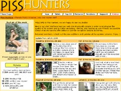 WELCOME To Piss Hunters, We Are Happy To See You Inside!