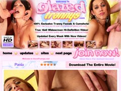100% Exclusive Tranny Facials & Cumshots! Fresh New Faces You`ve Never Seen Before Get Glazed With Cum!